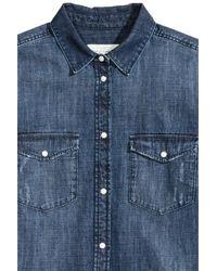 H&M Blue Denim Shirt