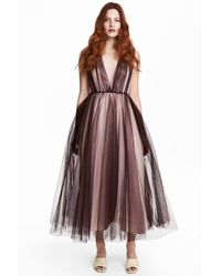 H&M Multicolor Tulle Dress