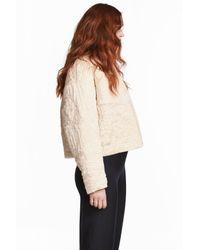 H&M Natural Padded Jacket
