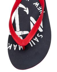 H&M Blue Flip-flops for men
