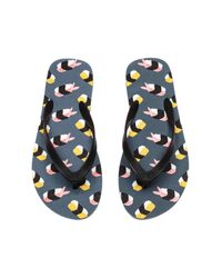 H&M Multicolor Flip-flops