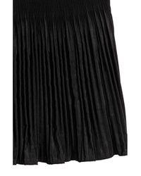 H&M Black Pliseerattu Hame