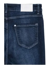 H&M Blue + Skinny High Jeans