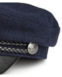 H&M - Blue Captain's Cap - Lyst