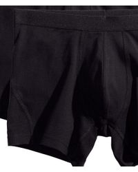 H&M Black 3-pack Boxers for men