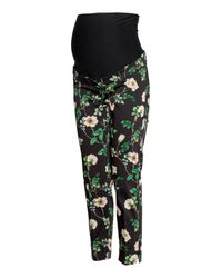 H&M Multicolor Mama Stovepipe Pants