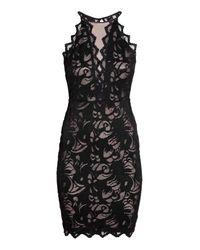 H&M Black Short Lace Dress