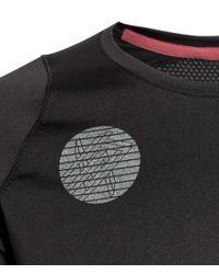 H&M Black Long-sleeved Running Top for men