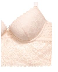 H&M Natural Push-up Lace Bralette