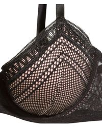 H&M | Black Padded Underwired Bra E/f Cup | Lyst