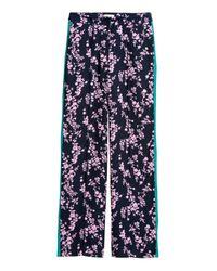 H&M Blue Wide-leg Pants