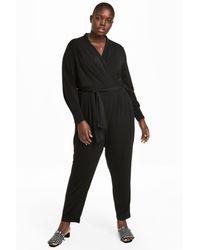 H&M Black + Jumpsuit