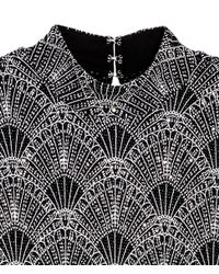 H&M - Black Glittery Dress - Lyst