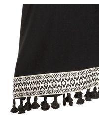 H&M Black Kimono
