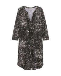 H&M | Black Jersey Tunic | Lyst