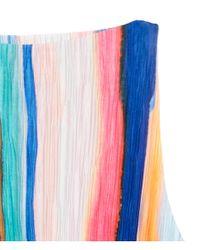 H&M Multicolor Pleated Dress