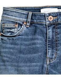 H&M | Blue Skinny Regular Jeans for Men | Lyst
