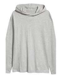 H&M - Gray Pyjamas With A Hooded Top for Men - Lyst