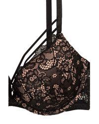 H&M Black Lace Super Push Up-bra