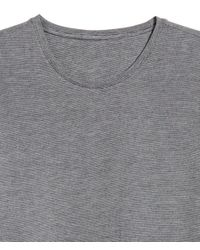 H&M Gray Thermal T-shirt for men