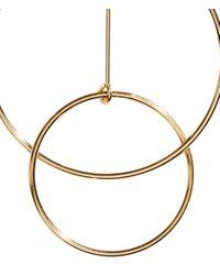 H&M - Metallic Large Earrings - Lyst