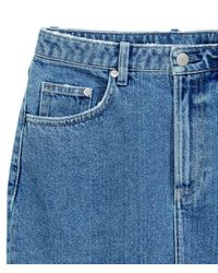 H&M - Blue Denim Skirt - Lyst