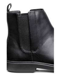 H&M Black Chelsea Boots for men