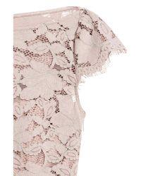 H&M Pink Pleated Dress