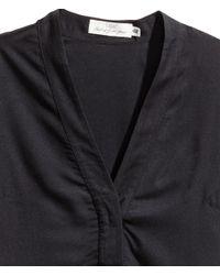 H&M - Black Tunic - Lyst