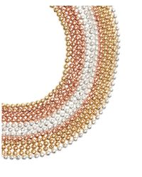 H&M - Metallic Multistrand Bracelet - Lyst