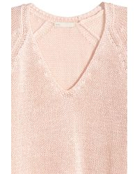 H&M Pink Knitted Jumper
