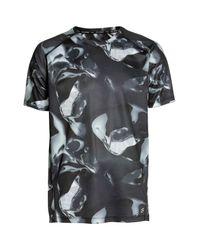 H&M Black Short-sleeved Running Top