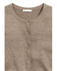H&M Multicolor Fine-knit Cotton Cardigan