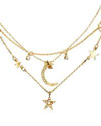 H&M - Metallic 3-pack Necklaces - Lyst