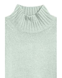 H&M Green Knit Wool-blend Sweater
