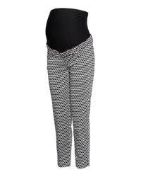 H&M Black Mama Stovepipe Pants