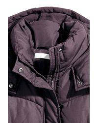 H&M Purple Padded Jacket