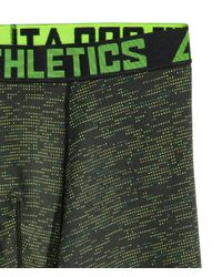 H&M Green Sports Boxer Shorts for men