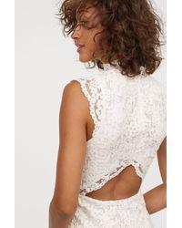 H&M Multicolor Long Lace Dress