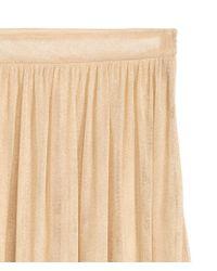H&M Multicolor Glittery Tulle Skirt