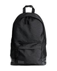 H&M Black Backpack for men