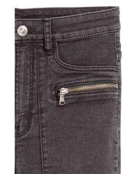 H&M Black Slim-fit Pants