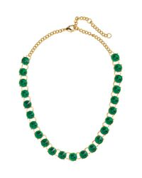 H&M - Green Short Necklace - Lyst