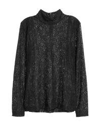 H&M Black Turtleneck Sweater