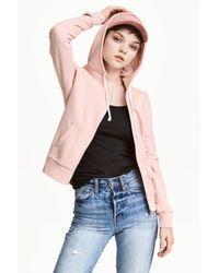 H&M Pink Hooded Jacket
