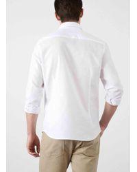 Hackett - White Mixed Multi Linen Shirt for Men - Lyst