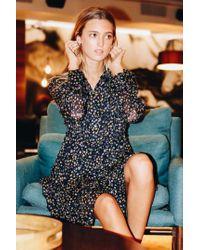 Zadig & Voltaire Blue Star Print Dress
