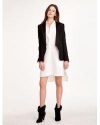Halston Heritage Black Slim Tuxedo Jacket