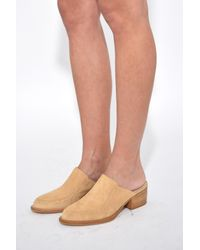 Simon Miller - Natural Weiss Shoe In Dune Suede - Lyst