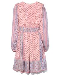 Ulla Johnson Pink Martine Short Dress